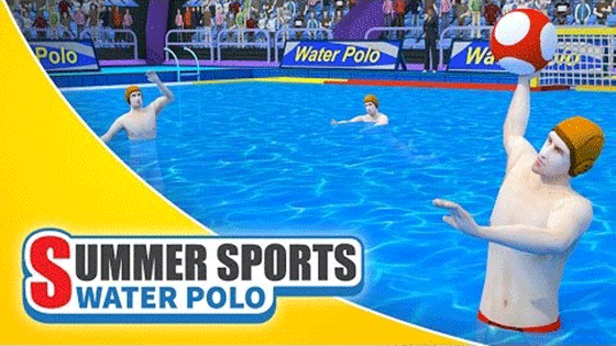 Summer Sports: Water Polo Banner