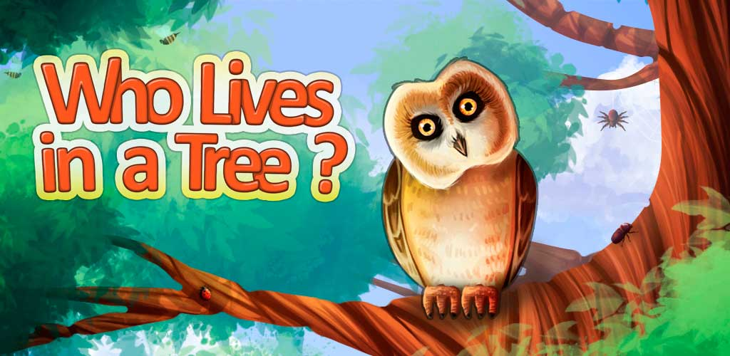 Who Lives in a Tree? An Interactive Children's Mini-Encyclopedia Banner
